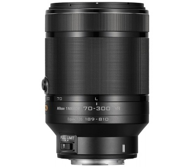 NIKKOR 1 70-300MM F4.5-5.6G ED AF-S VR - Black + po zaregistrování získáte zpět 2.000 Kč* + DOPRAVA ZDARMA