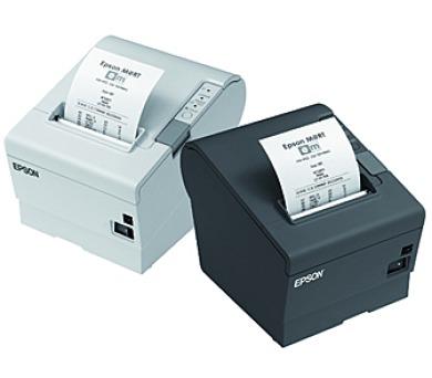 EPSON TM-T88V-321B0- černá/USB/Wi-Fi/zdroj/řezačka/EU kabel + DOPRAVA ZDARMA