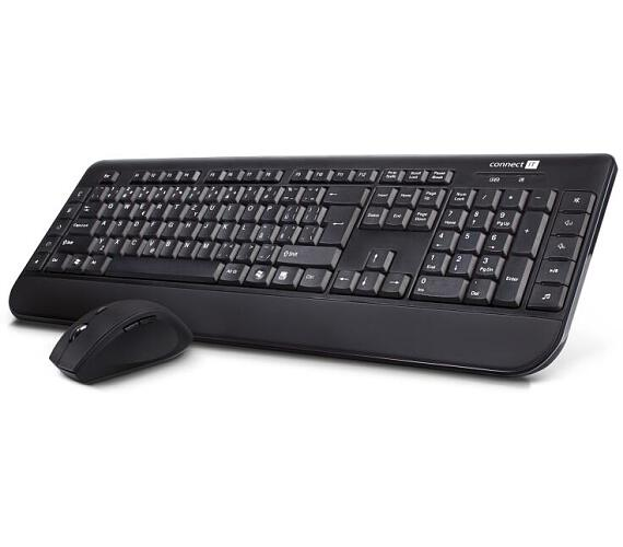CONNECT IT bezdrátové kombo klávesnice + myš
