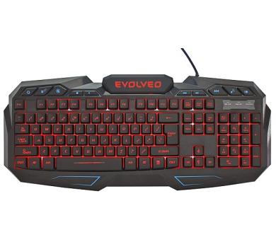 EVOLVEO GK680 herní podsvětlená klávesnice