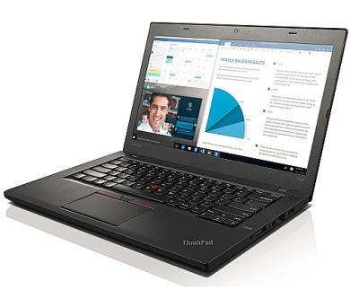 """Lenovo ThinkPad T460 i5-6200U/8GB/256GB SSD/HD Graphics 520/14""""FHD IPS/Win10PRO/Black + DOPRAVA ZDARMA"""
