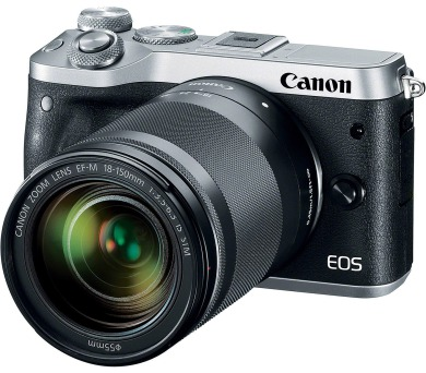 Canon EOS M6 Body Silver + EF-M 18-150 IS STM (1725C022)