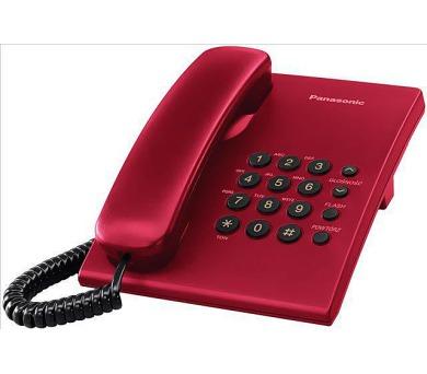 Panasonic KX-TS500FXR - jednolinkový telefon