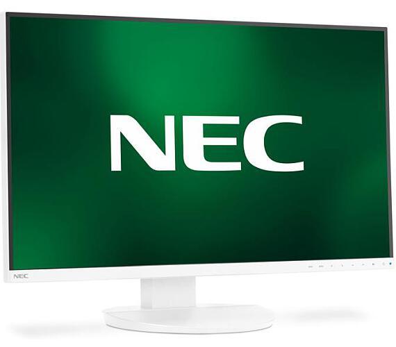 """NEC 27"""" EA271Q PLS/W-LED/2560x1440/6ms/350cd/DVI/DPin+out/HDMI/USB/Repro/bílý (60004650)"""
