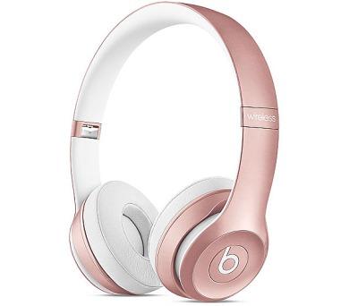 Apple Beats by Dr. Dre Solo 2 Wireless On-Ear Headphones - Rose Gold + DOPRAVA ZDARMA