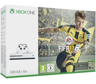 XBOX ONE S - 500GB + FIFA 17 + DOPRAVA ZDARMA