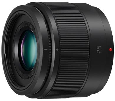 Panasonic H-H025E-K - LUMIX G 25mm/F1.7 ASPH + DOPRAVA ZDARMA