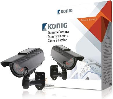 König SAS-DUMMYCAM90 - atrapa venkovní kamery + DOPRAVA ZDARMA