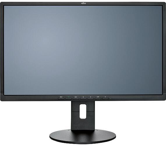 "Fujitsu 24´´ B24T-8-TS B-Line 23,8""(61 cm)/Wide LED/1920x1080/20M:1/5ms/250/HDMI/DVI/VGA/height adjust/EU cable/blac + DOPRAVA ZDARMA"