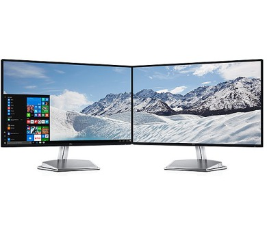 """Dell S2718H WLED LCD 27""""/6ms/1000:1/FHD/VGA//HDMI/USB/IPS panel/repro/cerny"""