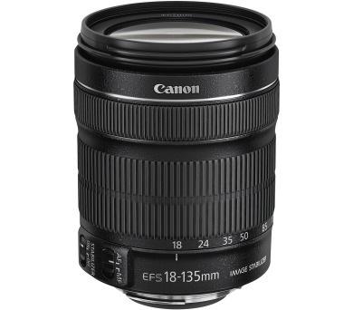 Canon EF-S 18-135mm f/3.5-5.6 IS STM + EW73B+LC kit - SELEKCE SIP