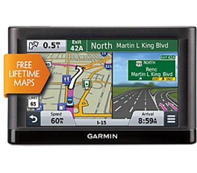 """Garmin nüvi 58T Lifetime Europe 45 - 45 států EU/5"""" LCD-otočný"""