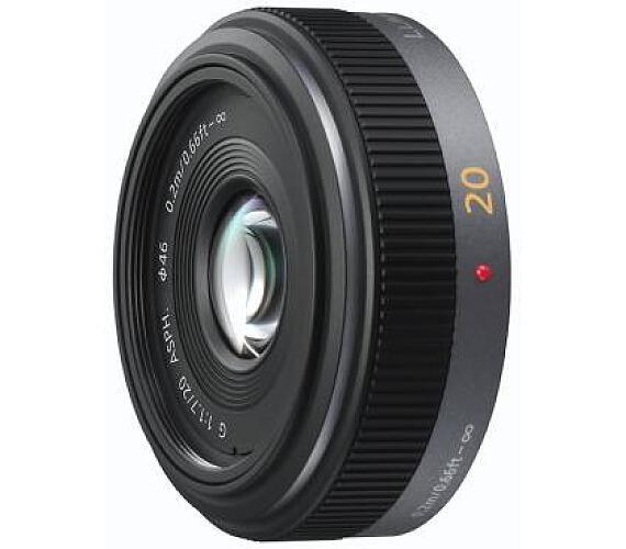Panasonic H-H020AE-K - LUMIX G 20mm/F1.7 ASPH + DOPRAVA ZDARMA