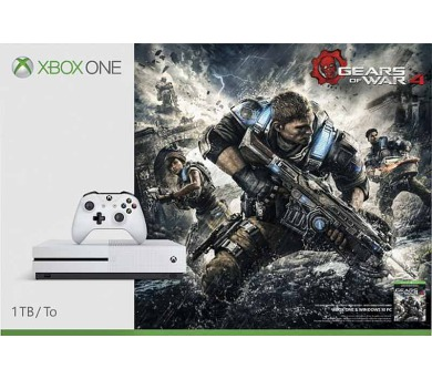 XBOX ONE S - 1TB + Gears of War 4 + DOPRAVA ZDARMA