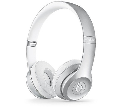 Apple Beats by Dr. Dre Solo 2 Wireless On-Ear Headphones - Silver