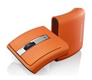 Lenovo Idea myš Wireless Laser N70A Orange = oranžová