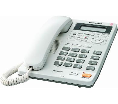 Panasonic KX-TS620FXW - jednolinkový telefon