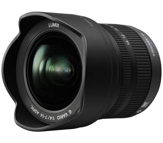 Panasonic H-F007014E - LUMIX G VARIO 7-14mm/F4.0 ASPH + DOPRAVA ZDARMA