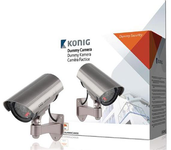 König SAS-DUMMYCAM30 - atrapa venkovní kamery