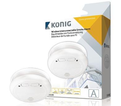 König SAS-SA200 - Bezdrátový detektor kouře