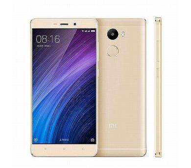 Xiaomi Redmi 4 Gold/ 5´´ HD 1280x720/1,4GHz OC/2GB/16GB/SD/2xSIM/FP/13MPx/4100mAh
