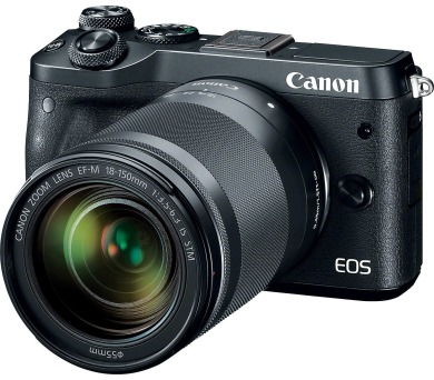 Canon EOS M6 Body Black + EF-M 18-150 IS STM