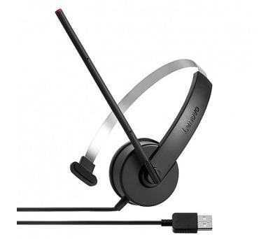 Lenovo sluchátka ThinkPad Lenovo Mono USB Headset + DOPRAVA ZDARMA