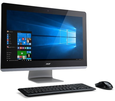 "Acer Aspire Z3-715 ALL-IN-ONE 23,8"" LED/ Intel Core i5 7400T /8GB/1TB/DVDRW/ wifi + BT4.0 / W10 Home + DOPRAVA ZDARMA"