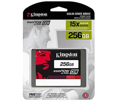 Kingston Flash SSD 256GB SSDNow KC400 SSD SATA 3 2.5 (7mm height)