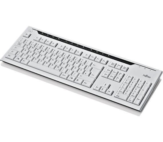 Fujitsu klávesnice KB521 USB CZ SK marble grey + DOPRAVA ZDARMA