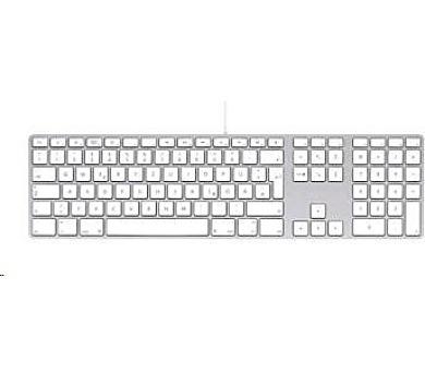 Apple Wired Keyboard CZ s numerickým blokem