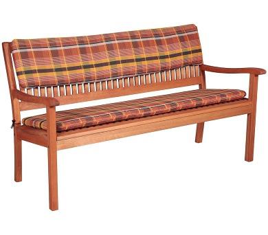 Sedák na lavici 2sed 110x45x6 cm
