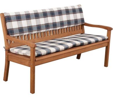 Sedák na lavici 3sed 150x45x6 cm