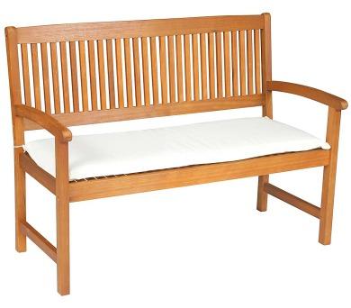 Sedák na lavici 3sed 150x45x6 cm přírodní