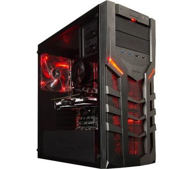 HAL3000 Ryzen 5 / AMD Ryzen 5 1600/ GTX 1060/ 16GB/ 240GB SSD + 2TB/ W10 (PCHS2183)