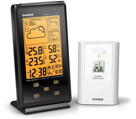Meteorologická stanice s 3 denní předpovědí počasí GARNI 135 Garni technology + DOPRAVA ZDARMA