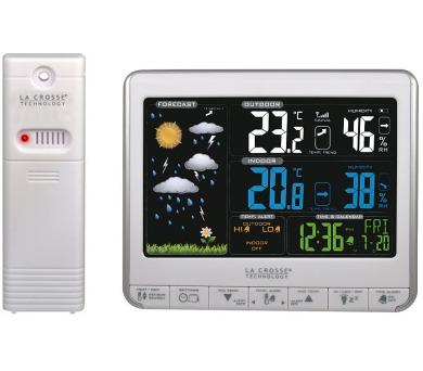 Meteorologická stanice s inverzním barevným displejem WS 6826WS La Crosse Technology + DOPRAVA ZDARMA