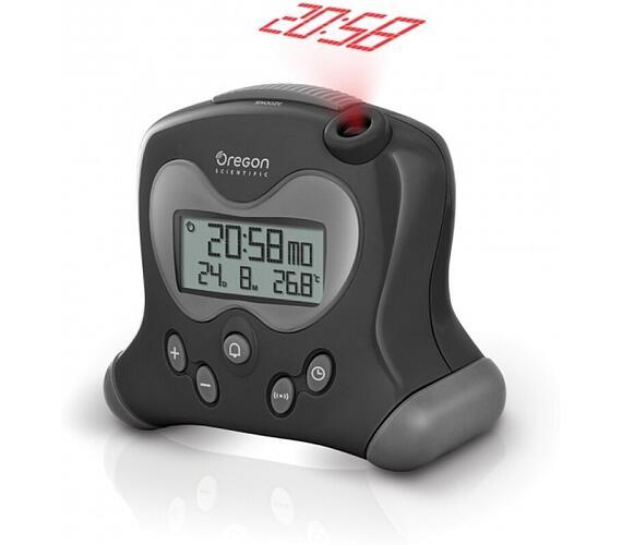 Digitální budík s projekcí času RM313PBK Oregon Scientific + DOPRAVA ZDARMA