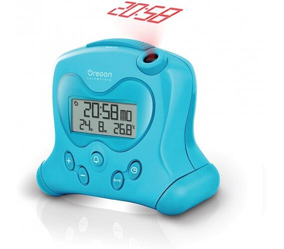 Digitální budík s projekcí času RM313PB Oregon Scientific + DOPRAVA ZDARMA
