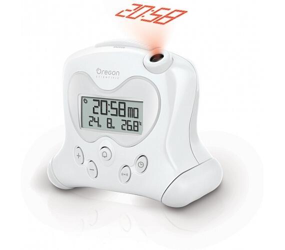 Digitální budík s projekcí času RM313PW Oregon Scientific + DOPRAVA ZDARMA
