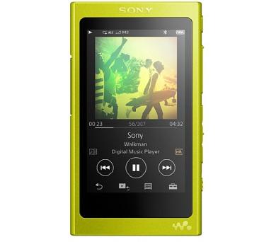 SONY NW-A35 - Přehrávač Walkman® se zvukem s vysokým rozlišením - Yellow + DOPRAVA ZDARMA