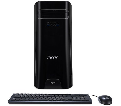 Acer Aspire TC-780 Ci7-7700/8GB/128GB SSD + 1TB HDD/ GTX1050 /DVDRW/USB/W10 Home