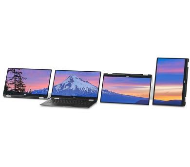 "DELL Ultrabook XPS 13 (9365)/i7-7Y75/8GB/256GB SSD/Intel HD 615/13.3"" FHD Touch/Win 10 MUI/Silver"