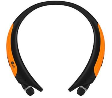 LG HBS-850.AGEUOR Bluetooth stereo headset černá/oranžová + DOPRAVA ZDARMA