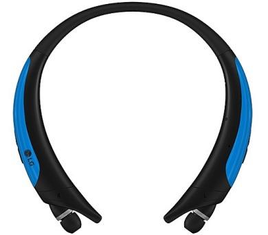 LG HBS-850.AGEUBL Bluetooth stereo headset černá/modrá + DOPRAVA ZDARMA