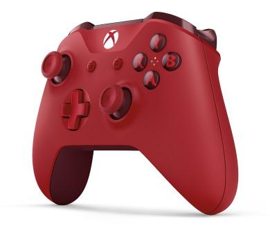 XBOX ONE - Bezdrátový ovladač Xbox One S červený [Eddy] + DOPRAVA ZDARMA