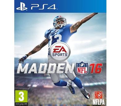 PS4 - Madden NFL 16 + DOPRAVA ZDARMA