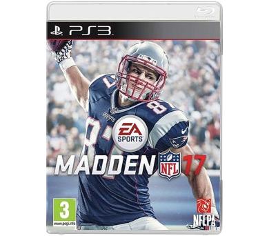PS3 - MADDEN NFL 17 + DOPRAVA ZDARMA