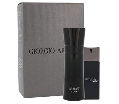 Toaletní voda Giorgio Armani Black Code + DOPRAVA ZDARMA