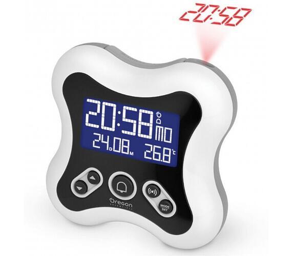 Digitální budík s projekcí času RM331PW Oregon Scientific